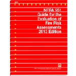 NFPA 551: Guide for the evaluation of fire risk assessments