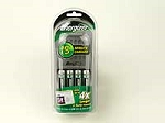 Interstate NIC0174 15 Minute Charger, Incl. 4 AA NiMH Batteries
