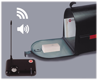 STI 34200, Wireless Mailbox Alert w/4-Channel Receiver