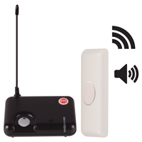 STI 34600, Wireless Doorbell Button Alert w/4-Channel Receiver