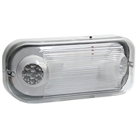 Orbit EL2H-WP-LED-GY Adjustable Wet Location Led Emergency Light