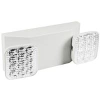 Orbit EL2NM-LED-W Micro Adjustable Square Head Led Emergency Light