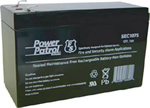 Power Patrol SEC1075, 12V/7 AH SLA Battery