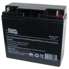 Power Patrol SLA1116, 12V/18 AH SLA Battery
