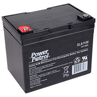 Power Patrol SLA1156, 12V/34 AH SLA Battery