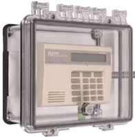 STI 7501D Polycarbonate Enclosure w/Open Conduit Backbox, Surface Mount Applications, Interior Thumb Lock