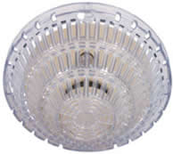 STI 8100 Smoke Detector Damage Stopper,Flush Mount, Clear