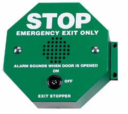 STI 6400 Exit Door Alarm, Green