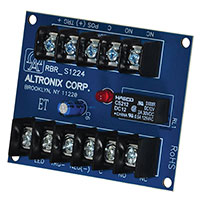 Altronix RBR1224, Electronic Ratchet/Toggle Relay Module - 12VDC to 24VDC operation