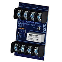 Altronix RBSN, Relay Module - 12VDC or 24VDC operation, 15mA current draw, DPDT contacts