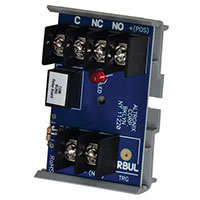 Altronix RBUL, Relay Module - 12VDC or 24VDC operation, 30mA current draw, SPDT contact