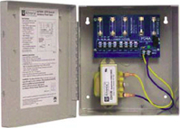 Altronix ALTV244, CCTV 24/28VAC Wall Mount, 4A, 4 Output Power Supply