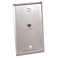 Air Products & Controls MS-RA, Remote Alarm for Single Gang Box Labeled Alarm