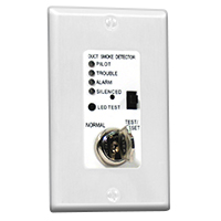 Air Products & Controls MSR-100R/W, Control w/ Indicator/Control Assembly w/ White Single Gang Cover Plate