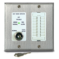 Air Products & Controls MSR-50RKA/S, Control w/ Sounder Assembly, Stainless Double Gang Plate