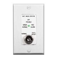 Air Products & Controls MSR-50RK/W, Remote Control Assembly w/ Single Gang Cover Plate, White