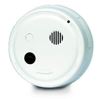 Gentex 7100F, P/E Smoke Detector, 120VAC w/Piezo Sounder, Form A/C Contacts
