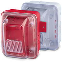 Gentex GOE-R, Outdoor Enclosure Back-Box, Red