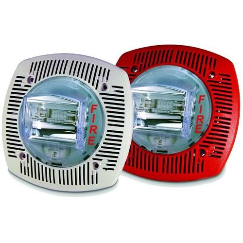 Sspk24clpr 24vdc Speaker Strobe Select Candela Ceiling Red