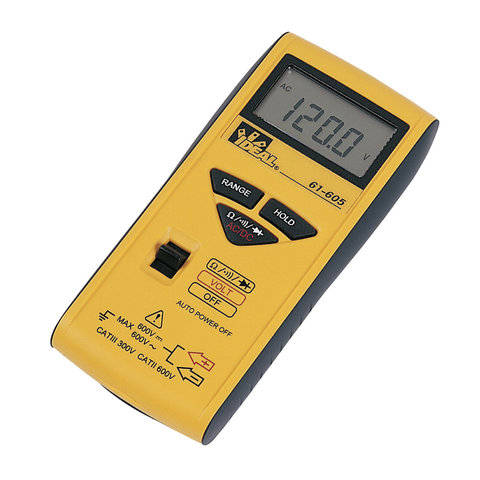 Pocket Digital Multimeter with Test Leads