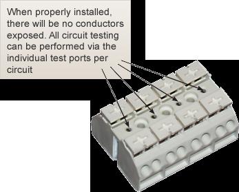 Ssu00663 Ifx D 128 Point Terminal Cab W Tool Less Terminals