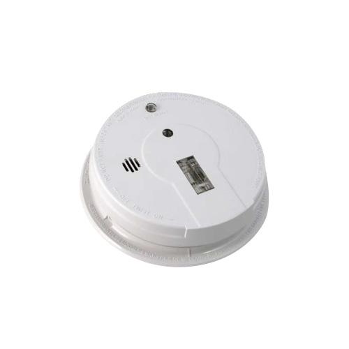 kn p12040 photoelectric 120v ac dc smoke alarm w hush test. Black Bedroom Furniture Sets. Home Design Ideas