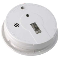 Kidde KN P12040, Photoelectric 120V AC/DC Smoke Alarm, with Hush and test