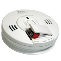 Kidde KN COPE-i, AC/DC Wire-In Photoelectric Smoke/CO Alarm - Voice Warning