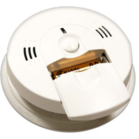 Kidde KN COSM-XRT-BA, DC Intelligent CO/Smoke Alarm, Front Load Battery, Voice Warning