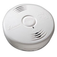 Kidde KN P3010B, DC Photo Smoke Alarm with Voice, Ten Year Sealed Lithium Battery