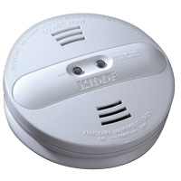 Kidde KN Pi2010, 120V AC/DC Smoke Alarm, Photo/Ion Dual Sensor Wire-in, Hush