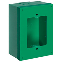 Green Back Box & Spacer Kit for Stopper Stations