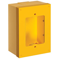 Yellow Back Box & Spacer Kit for Stopper Stations