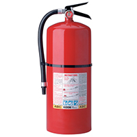 Kidde KN PRO20MP, Fire Extinguisher, 6-A, 80-B:C, 20 lbs., Wall Hook, Rechargeable