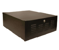 Mier BW-224 DVR/VCR Lock-box with Fan, 20x8x24