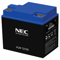 NEC NEC-ALM12V35s, High Performance 12 Volt, 35 Amp Hour Nanophosphate Lithium Ion Battery