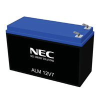 NEC NEC-ALM12V7s, High Performance 12 Volt, 5 Amp Hour Nanophosphate Lithium Ion Battery