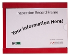 Space Age Electronics SSU52020, Inspection Record Frame (IRF)
