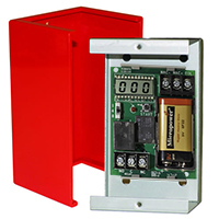 Space Age SSU MR-ITM/C/R, Inspection, Test and Maintenance Mode Relay, Red Enclosure