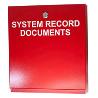 Space Age Electronics SSU00689, System Record Documents (SRD) Box
