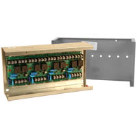 Space Age SSU MR-204/C, Multi-Voltage Control Relay, 10A, DPDT, 4 Position, Grey Enclosure