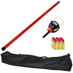 SDi SOLO 810 Starter Test Kit, Includes 4-foot Pole and Aerosol Smoke Dispenser