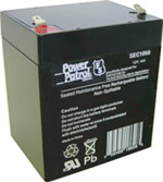 Power Patrol SEC1050, 12V/4 AH SLA Battery