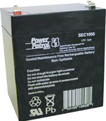 Power Patrol SEC1055, 12V/5 AH SLA Battery