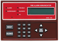 Silent Knight 5235 Remote Annunciator, Red