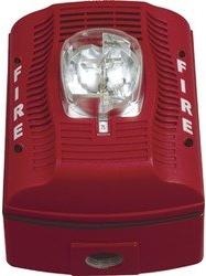 Spsrk 12 24v Selectable Candela Outdoor Speaker Strobe Red