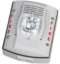 Spswk 12 24v Selectable Candela Outdoor Speaker Strobe White