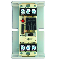 Space Age SSU MR-601/T, Multi-Voltage Series Relay w/Manual Override, 7-10A, SPDT, 1 Position