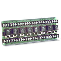 Space Age SSU MR-608/T, Multi-Voltage Series Relay w/Manual Override, 7-10A, SPDT, 8 Position