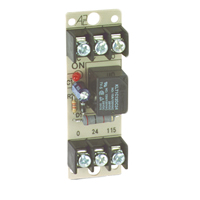 Space Age SSU MR-801/T, Multi-Voltage Series Relay, 10A, SPDT, 1 Position, Track-Mount